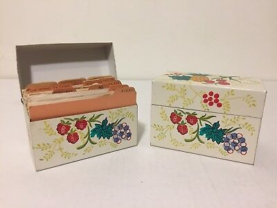 Lot 2 Grandmas Vintage Recipe Boxes 400+ Mostly Clipped Recipes 1950s to 1980s