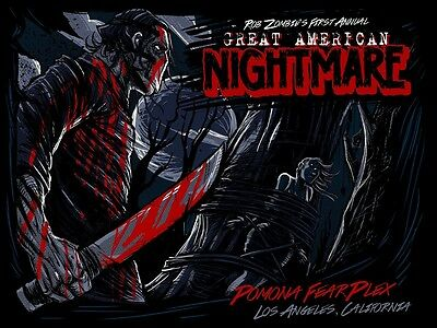 Rob Zombie's 1st Annual American Nightmare Poster Dayne Henry