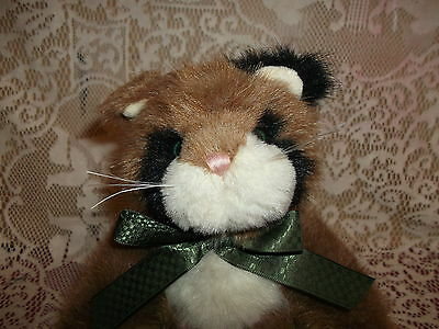 "12"" Boyd Collection Jointed CALICO CAT - 1988-2003 - very clean with fabric tags"