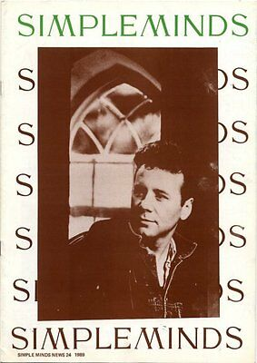 Simple Minds Fanzine #24 1989