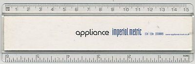 Appliance Imperial Metric Promo Ruler