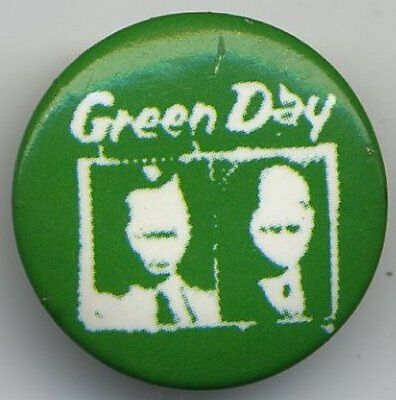 Greenday Promo Badge Button