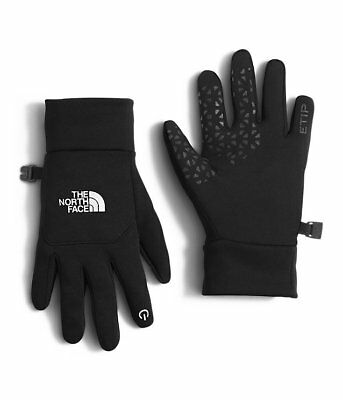 New The North Face Youth Etip Gloves Black Size Large and XL