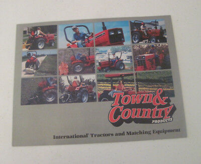 Vintage International Tractors Town & Country Products Sales Brochure