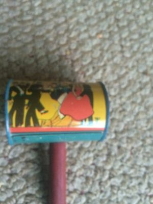 Vintage Tin Litho noise makers #7