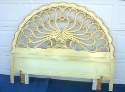 French Provincial King / Queen Size Headboard By Genova Furniture Co.