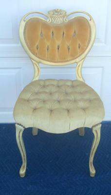 French Provincial Vanity Chair
