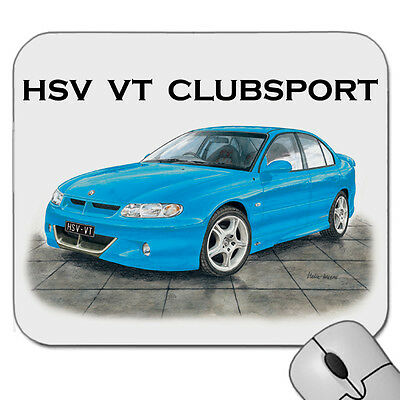 Holden   Hsv  Vt  Clubsport Commodore                    Mouse Pad