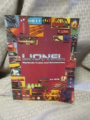Lionel Big Scale Trains and Accessories Catalog, 1978, 24 pages