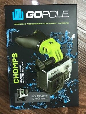 Go Pole Chomps Hands Free Mouth Mount For GoPro Cameras