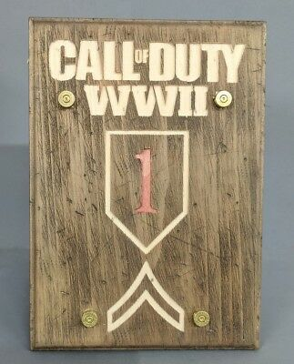 Call of Duty: World War 2 - Plaque