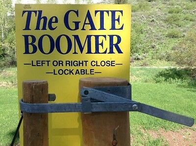 **** Gate Boomer Gate Closer ******* Super easy closing of wire gates.