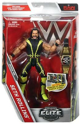 WWE Mattel Elite Collection 52 Seth Rollins Wrestling Figure Universal Title