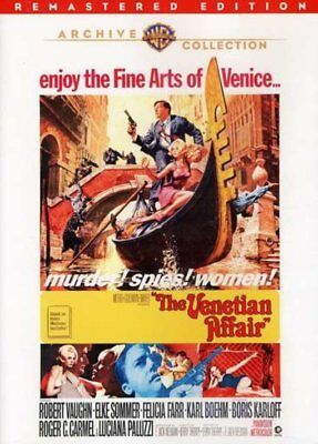 The Venetian Affair NEW DVD
