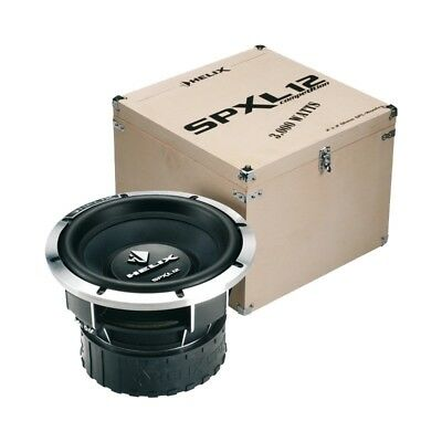 HELIX SPXL12 competition car subwoofer *FREE SHIPPING*