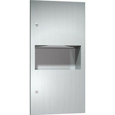 Stainless Steel Paper Towel Dispenser & Bin 8.4L recess mount