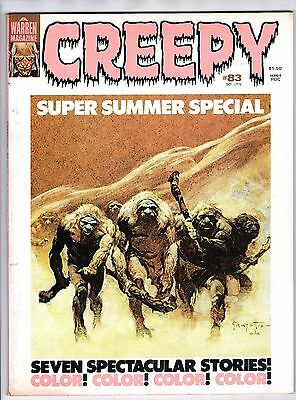 Creepy #83 (Oct 1976, Warren) FINE-  Frank Frazetta Williamson Corben Wrightson