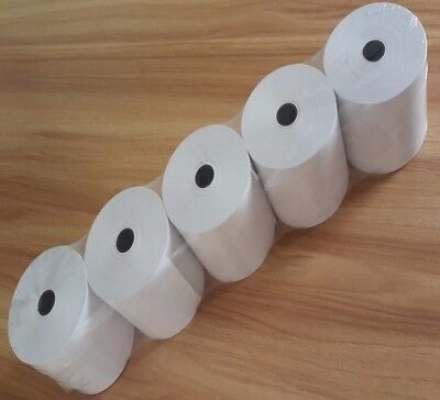 50 Rolls 80x80mm Thermal Paper, Cash Register, Receipt Rolls