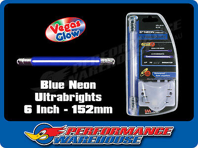 Vegas Glow Ultrabrights 6 Inch Neon Blue Pulses To Music Car Ute Boat