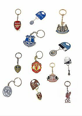 Football Club Keyrings Official Merchandise - New - Sealed