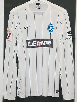 Krylia Sovetov (Russia) Match Worn Shirt Belgium Brugge France Lille
