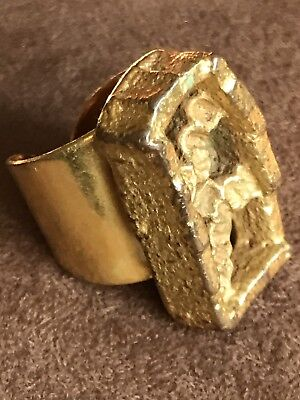 Jacob Hull Ring Typisches Modern Jacob Hull Style Signiert