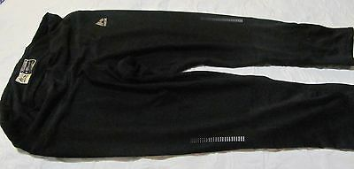 Rbx Running Fitness Pants Size S Black Zipper Pocket In Back