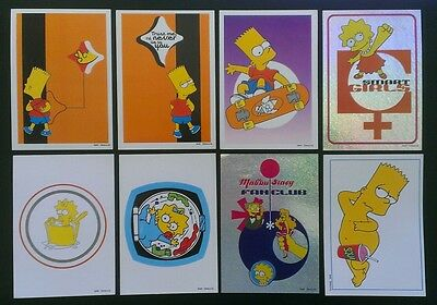 The Simpsons 1999 Panini Stickers (8)