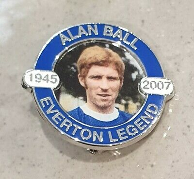 Alan Ball Official Legends Badge - 1945 / 2007 - Featuring his Picture