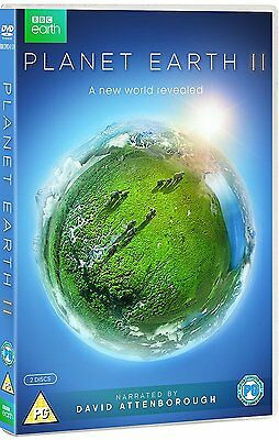 Planet Earth II Part 2 (2016) Complete Series DVD David Attenborough New R2+R4