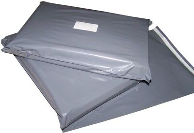 GREY Plastic Mailing Bags - Various size multi quantity cheap price polythene