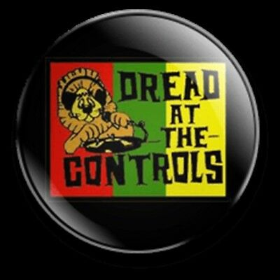 Mikey Dread Dread At The Controls 25Mm Badge Roots And Culture Reggae Dub