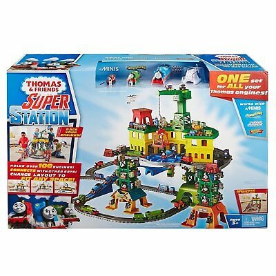 Thomas And Friends Super Station Giant Playset Learning Toy Gift (Mattel)