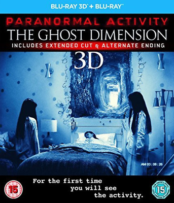 Paranormal Activity: The Ghost Dimension  Blu-Ray NUEVO