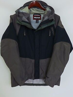 XBS188 Men Marmot Gore-Tex XCR Hiking Camping Outdoor Waterproof Jacket Size M