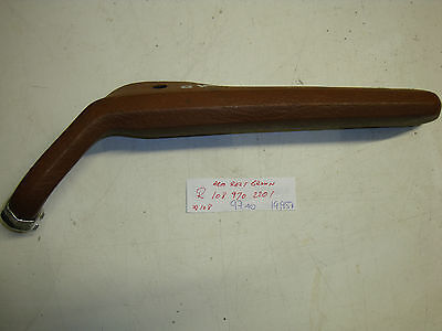 Mercedes-Benz W108 250S W109 300SEL 6.3 right rear arm rest BROWN 108 970 22 01