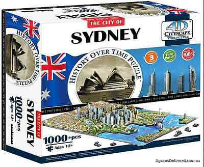 Puzzle 4D Cityscape the city of SYDNEY neuf