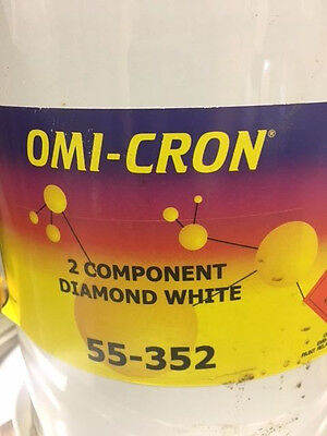 Omi-Cron 2K HS 2 Component Ford Diamond White Acrylic Ready Mixed 5 Litre
