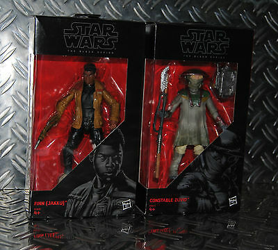 Star Wars Black Series Finn UND Constable Zuvio  , 2 Figuren (ca.15cm)