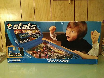 Stats Table Top Pinball -Space Adventure Pinball- by Moose Mountain NEW