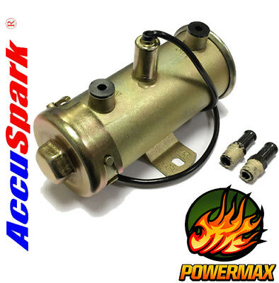 12v Powermax Electronic High Flow Fuel Pump Suitable For All Classic Cars
