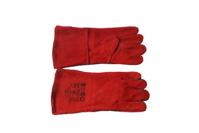 Welding Gloves RED-K TIG MIG MAG MMA  Size 10