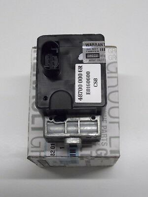 RENAULT  Steering Lock  RECODED  E0160600  487000006R