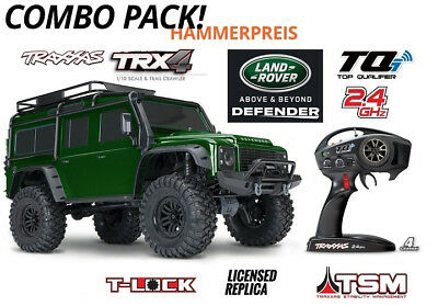 Traxxas TRX-4 Limited GRÜN Green Edition Land Rover Defender 1:10 RTR  TRX82056