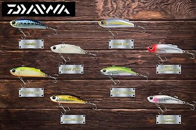 """[10%OFF] Daiwa High Pitch Wide Vibration lure """"MORETHAN MINIENT"""" 57S 8-Colors JP"""