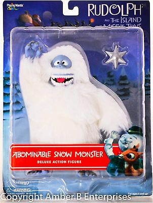 Rudolph and the Island of Misfit Toys Deluxe Figure - Abominable Snow Monster...