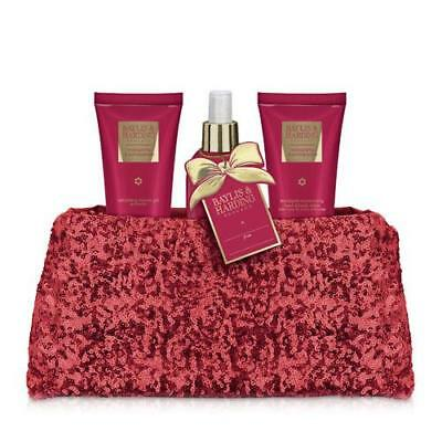 Baylis and Harding Clutch Bag Gift Set - Midnight Fig and Pomegranate