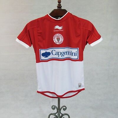 Brand New Men BOPB Biarritz Olympique Pays Basque Rugby Team Official Home Shirt
