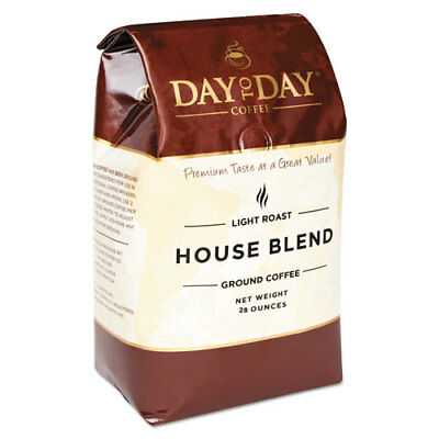 100% Pure Coffee, House Blend, Ground, 28 oz Bag, 3/Pack