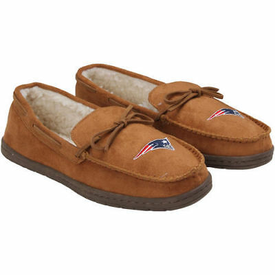 Forever Collectibles NFL NEW New England Patriots Moccasins Slippers